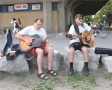 Beaches Buskers